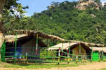 http://www.omshantiguesthouse.in : Kaberi Nath